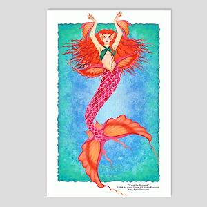 """Coral the Mermaid"" 8 - Postcards"