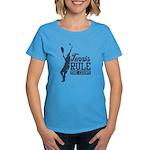Tennis : Rule the Court Women's Dark T-Shirt