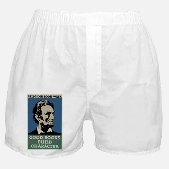 Cute Abraham lincoln Boxer Shorts