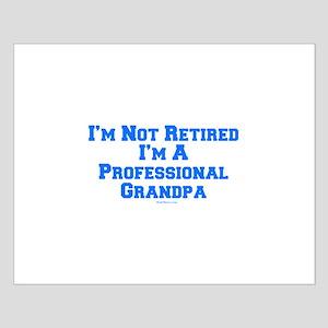 Professional Grandpa Small Poster