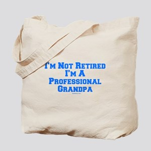 Professional Grandpa Tote Bag