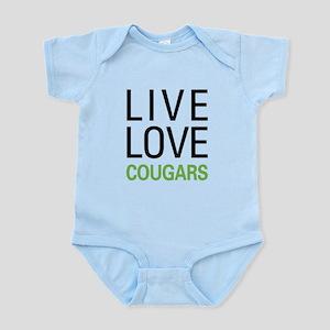 Live Love Cougars Infant Bodysuit