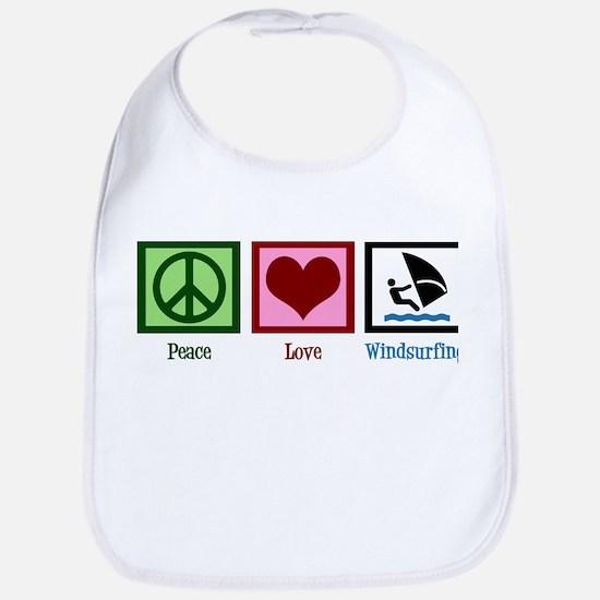 Peace Love Windsurfing Bib