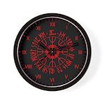 Aegishjalmur Wall Clock