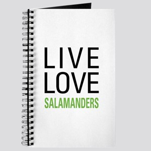 Live Love Salamanders Journal