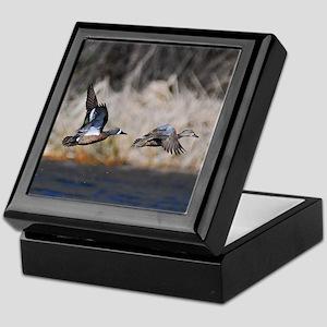 Blue-winged Teals Keepsake Box
