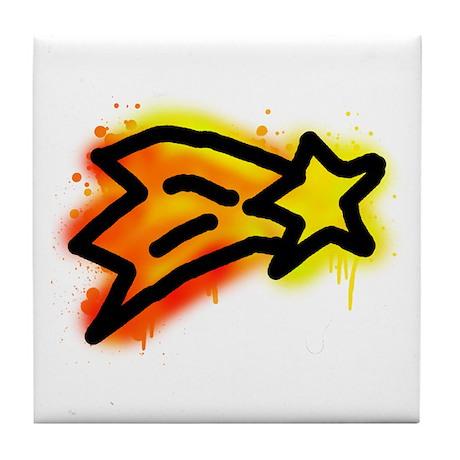 'Shooting Star' Tile Coaster