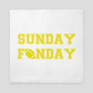 Sunday Funday Queen Duvet