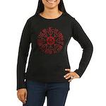 Aegishjalmur Women's Long Sleeve Dark T-Shirt