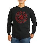 Aegishjalmur Long Sleeve Dark T-Shirt