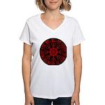Aegishjalmur Women's V-Neck T-Shirt