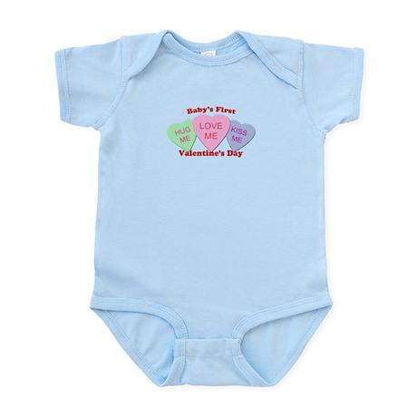 First Valentine's Day Infant Bodysuit