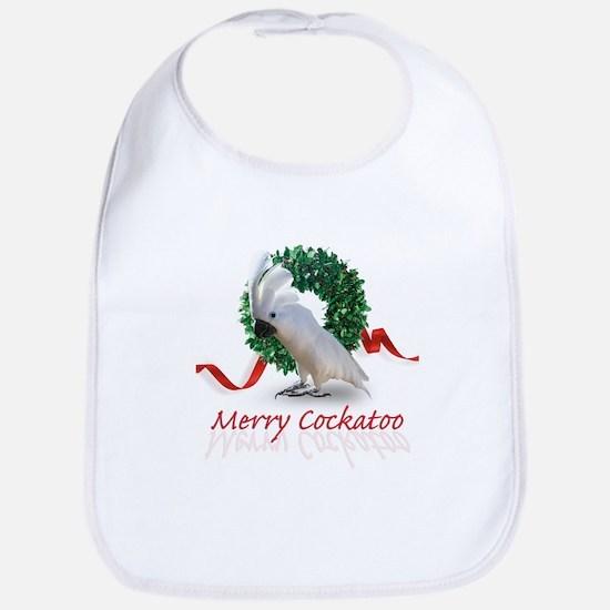 merry cockatoo Bib