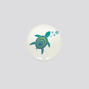 Ocean Doctor Sea Turtle Mini Button