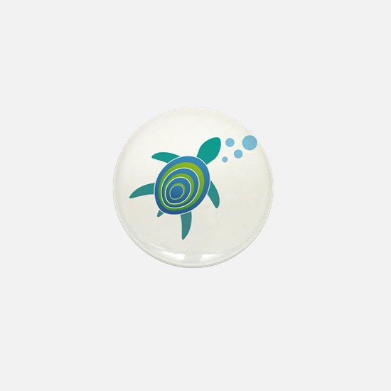 Ocean Doctor Sea Turtle Mini Button