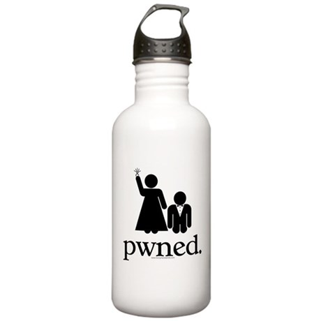 Pwned! Stainless Water Bottle 1.0L