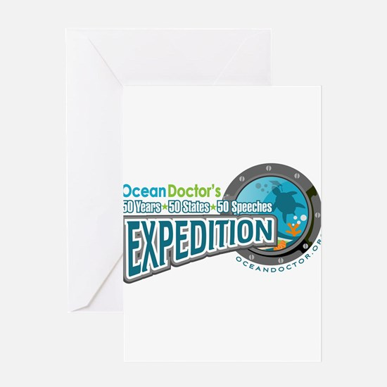 50-States Expedition Greeting Card
