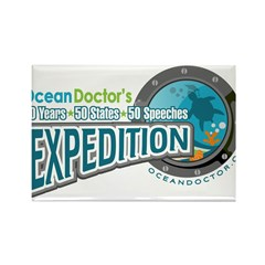 50-States Expedition Rectangle Magnet (100 pack)