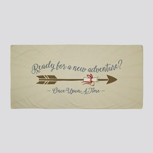 OUAT Ready For A New Adventure Beach Towel