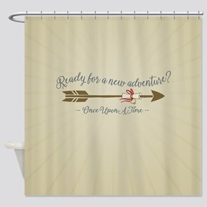 OUAT Ready For A New Adventure Shower Curtain