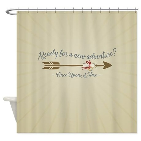 OUAT Ready For A New Adventure Shower Curtain By Movieandtvtees