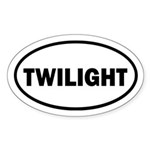 Twibaby Twilight Euro Sticker (Oval)