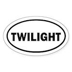 Twibaby Twilight Euro Sticker (Oval)