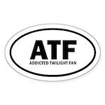 ATF Addicted Twilight Fan Euro Sticker (Oval 50 pk