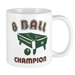 8 Ball Champion Mug