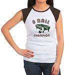 8 Ball Champion Women's Cap Sleeve T-Shirt