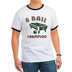 8 Ball Champion Ringer T