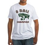 8 Ball Champion Fitted T-Shirt