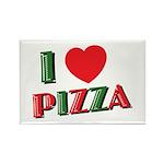 I love PIZZA Rectangle Magnet (10 pack)