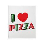I love PIZZA Throw Blanket
