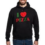 I love PIZZA Hoodie (dark)