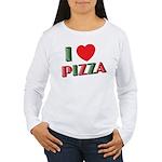 I love PIZZA Women's Long Sleeve T-Shirt