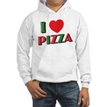 I love PIZZA Hooded Sweatshirt