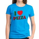 I love PIZZA Women's Dark T-Shirt