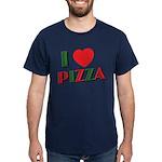 I love PIZZA Dark T-Shirt