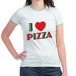 I love PIZZA Jr. Ringer T-Shirt