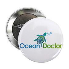 """Ocean Doctor Logo 2.25"""" Button"""