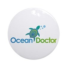 Ocean Doctor Logo Ornament (Round)