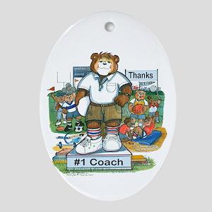 Male Coach Elementary - Keepsake (Oval)