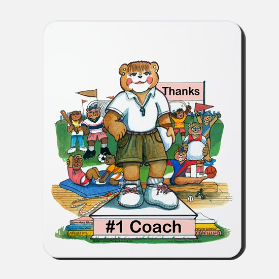 Female Coach Elementary - Mousepad
