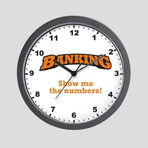 Show me the Numbers Wall Clock