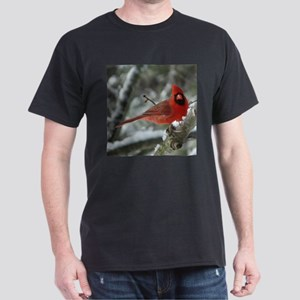 Cardinal Winter Dark T-Shirt