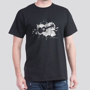 Ukulele Splash 2 in Black Dark T-Shirt