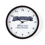 Show me the Print! Wall Clock