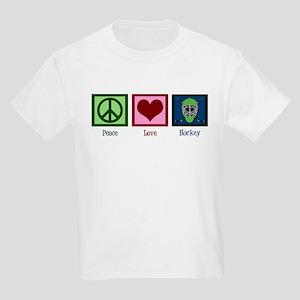 Peace Love Hockey Kids Light T-Shirt