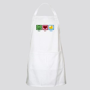 Peace Love Ducks Apron